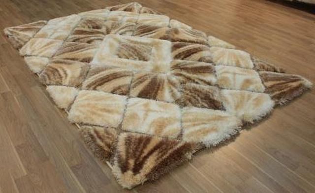 Puffy Softy 3D 2212-WHITE-BROWN