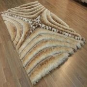 Puffy Softy 3D 2209-WHITE-BROWN